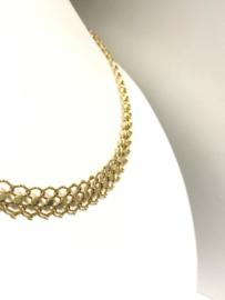 Antiek 14 K Gouden Collier (Verstelbaar) - 42,5 / 46,5 cm