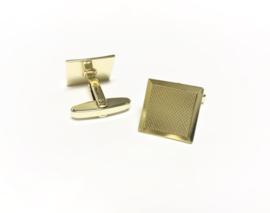 14 K Antiek Gouden Manchet Knopen / Cufflinks - 13,95 g