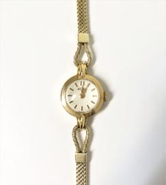 Art Deco 14 K Gouden Dames Polshorloge - ALTUS / Jaren '30
