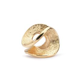 18 K Gouden Trollbeads TAUBE-00071  'Eindeloos Goud'