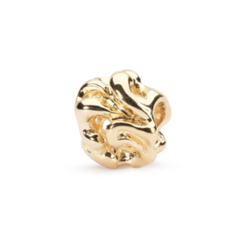18 K Gouden Trollbeads TAUBE-00068 Witte Wieven (Retired)