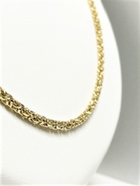 14 K Gouden Koningsketting Ronde - 70 cm / 20,7 g