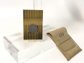 S.T. Dupont Vintage RVS Vergulde Luxe Sigaren Knipper / Rook Accessoire