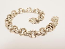 Zilveren Anker Schakel Armband - 20 cm / 18,5 g