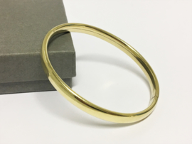 Zilveren Slaven Armband (14 K Goud Verguld )
