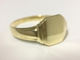 Antiek Gouden Zegelring - Datering Jaren '20