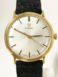 14 K Gouden Omega Dresswatch - Heren Polshorloge Jaren 60/70
