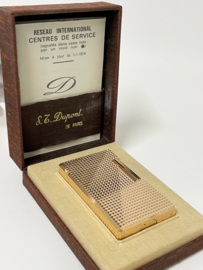 S.T. Dupont Aansteker Diamond Tips - Full Set 1974 / Nieuwstaat