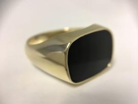 Antiek Gouden Heren Ring - Model Stomphoek (Klassiek/Liggend)