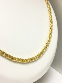 14 K Gouden Koningsketting Byzantijns - 60 cm / 45,9 g