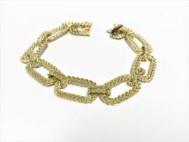 14 K Gouden Schakel Armband - 19 cm / 24,8 g / 1,2 cm