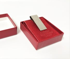 Cartier Geldclip  / Geldclip in Cassette - 5 x 2 cm