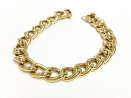 18 K Gouden Gourmet Schakel Armband - 18,5 cm / 13,9 g
