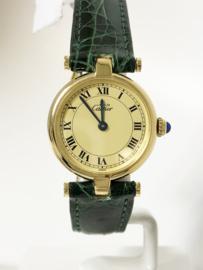 Cartier le Must Vermeil Ronde Quartz / 24 mm - Incl. Garantie