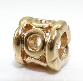 PANDORA 750223 Gold Charm (Retired)