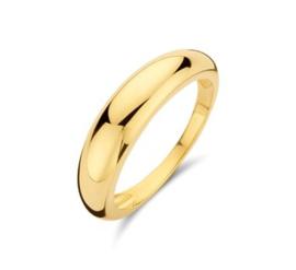 14 K Gouden Bandring (bol) - 5 mm