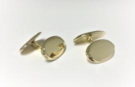 Antiek 14 K Handvervaardigd Gouden Manchetknopen Datering 1910 - 14,35 g