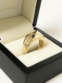 18 K Gouden Heren Ring - 7,95 g