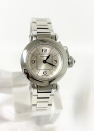 Cartier Miss Pasha 2973 Silver Dial Quartz Dames Polshorloge