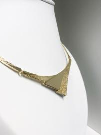 Fins Designer Riitta Hakala 14 K Gouden Collier - 42 cm / 25,32 g