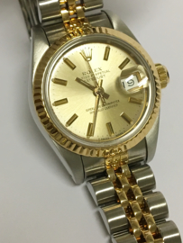Rolex Oyster Perpetual Datejust Lady - Dames Polshorloge Staal/Goud