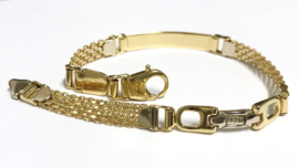 18 K Gouden Schakel Armband - 20,8 cm / 16,2 g