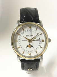 Maurice Lacroix Masterpiece Phase de Lune Automaat Staal / Goud - 76613