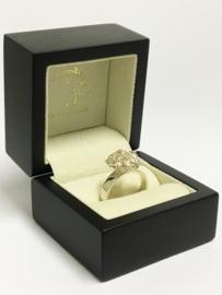 Zilveren Fantasie Ring - Draden