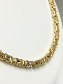 14 K Gouden Koningsketting Byzantijns - 76 cm / 80,91 g