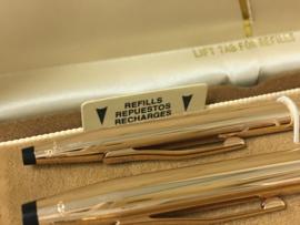 New Old Stock - CROSS  3-Delige Pennen Set In Cassette
