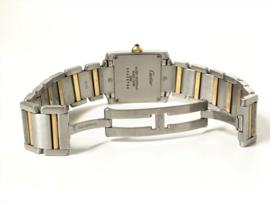 Cartier Tank Francaise Midsize Staal / Goud - Model 2301 Quartz