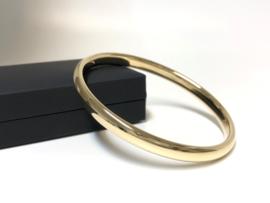 14 K Gouden Slaven Armband Draaglengte 19,5 cm - 13,4 g / 7,2 mm