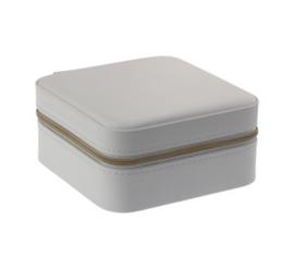 Luxe Sieraden Opberg Box Wit - Goud