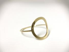 14 K Gouden Fantasie Ring (Open)