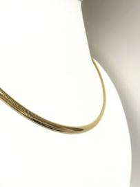 14 K Gouden Omega Collier - 46 cm / 22,84 / 4,5 mm