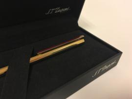 S.T. Dupont Pen Laque de Chine - Bordeaux Incl Toebehoren