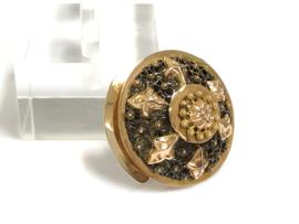14 K Antiek Gouden Filigrain Broche - ca 1900