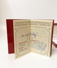 Must de Cartier  Stylo Santos Trinity  - Full Set