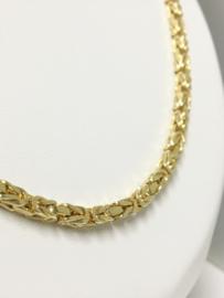 18 K Massief Gouden Koningsketting Byzantijns - 61 cm / 47,1 g