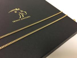 14 K Massief Gouden Gourmet Ketting - 62 cm / 10,75 g