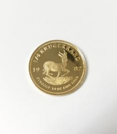 Zuid-Afrika 1/4 Gouden Krugerrand (PR) - Goud / 8,48 g