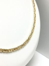 14 K Gouden Koningsketting Byzantijns - 60 cm / 24,9 g