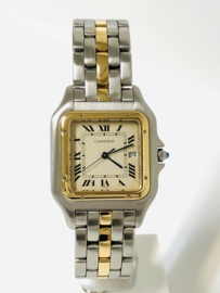 Cartier Panthère XL Jumbo One Row - Staal / Goud Quartz