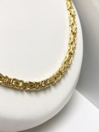 14 K Gouden Koningsketting Byzantijns (hol) - 65 cm / 47,23 g