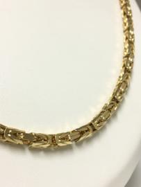 14 K Gouden Koningsketting Byzantijns - 69 cm / 64,54 g