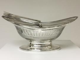 Antiek Zilveren Broodmand - Engeland Sheffield 1898/1899