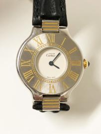 Must de Cartier 21 - Quartz Dames Polshorloge