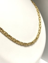 14 K Gouden Koningsketting Byzantijns - 64 cm / 18 g