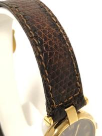 Cartier le Must Vermeil Ronde 18 K Verguld Zilver - Quartz