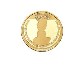 Gouden 10 Euro 2002 Huwelijk Willem-Alexander & Maxima PROOF